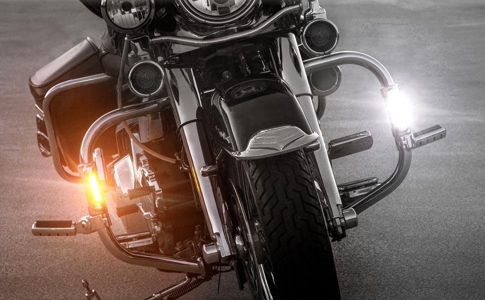 Motorcycle Crash Bar Lights