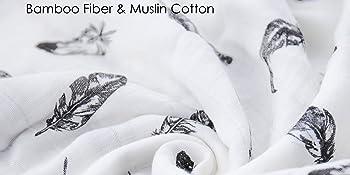 bamboo muslin organic cotton