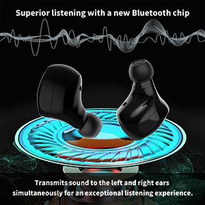 stereo headphones wireless