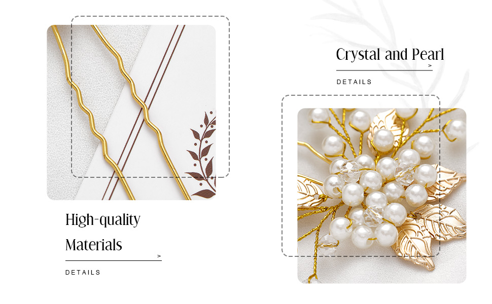 Wedding hair clips is good for women and bridemaid