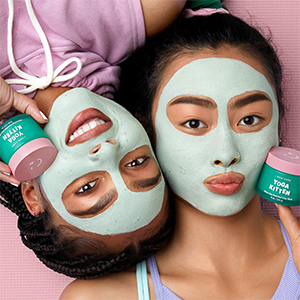 i dew care, yoga kitten, clay mask
