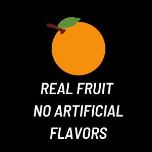 real fruit flavor energy gel