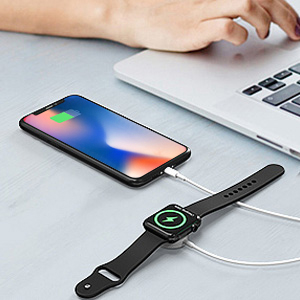 2 in 1 iwatch iphone charger