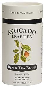 Avocado Leaf Tea Black Tea Blend