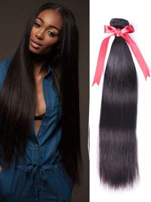 straight hair bundles with closure