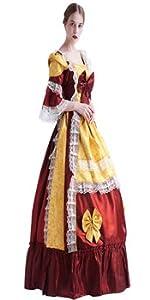 Victorian Princess Dress Gown Reenactment Theater Wear
