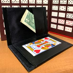 Mind Reading Magic Trick Magic Makers Leather Magicians Mentalism Wallet