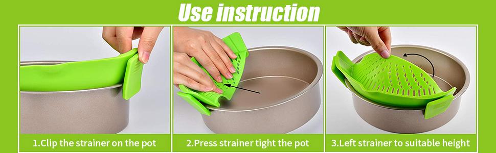 Heat Resistant Silicone Pot