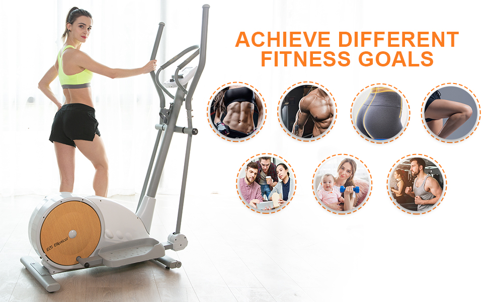 crossfit workout magnetic elliptical equipment