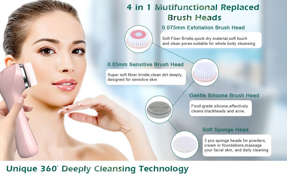face wash brush