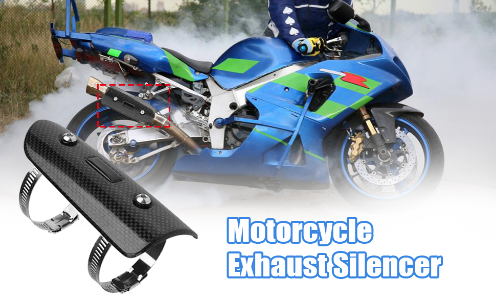 Motorcycle Exhaust Silencer