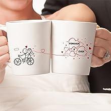 boldloft wedding gifts bride groom couples coffee mugs engagement registry newlywed just married