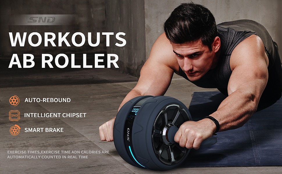 Workout ab roller