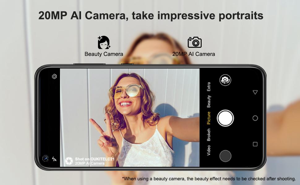 Telefono con fotocamera HD