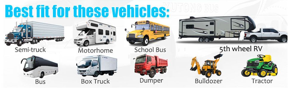 fit for many vehicles