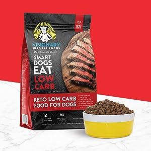 keto, low carb dog food, keto dog food, ketogenic dog food, grain-free, cancer dog diet, best food