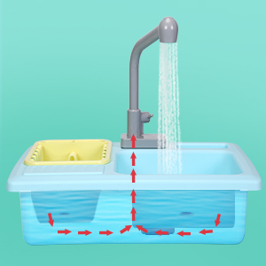 kitchen sink toys with running water