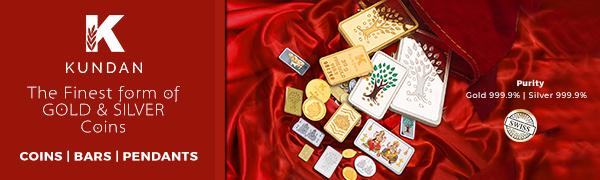 Kundan Gold coins,silver coins,gold pendants,silver pendants,gold bar,silver bar