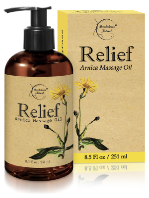 Relief Arnica Massage Oil Essential Oil Sore Muscle Pain Relief