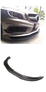 Mercedes Benz W176 A Class A45 AMG A200 A250 Sport 2013-2015 Carbon CF Front Chin Spoiler Bumper Lip