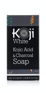 Koji White Charcoal Soap