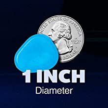 1 inch diameter rock size