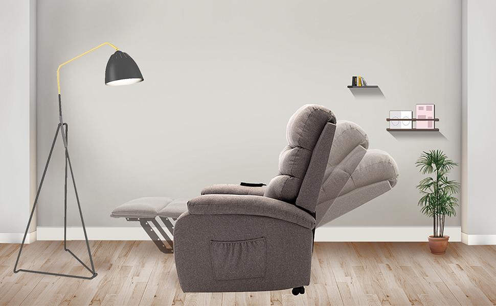 recliner chair massage heating