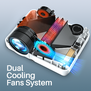Dual Cooling Fans