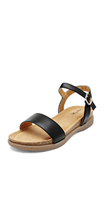 lunna flat sandals