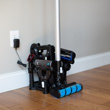 Simplicity S65 cordless vacuum cleaners rechargeable, storage station, charger, rechargeable battery