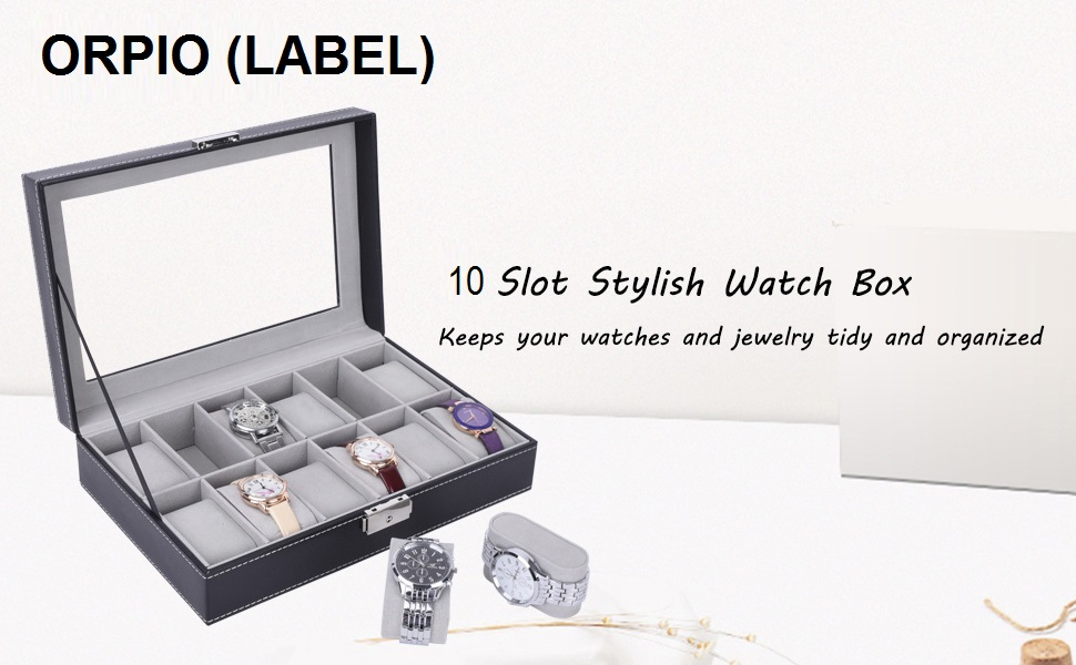 ORPIO 10 Grid Watch Storage Box