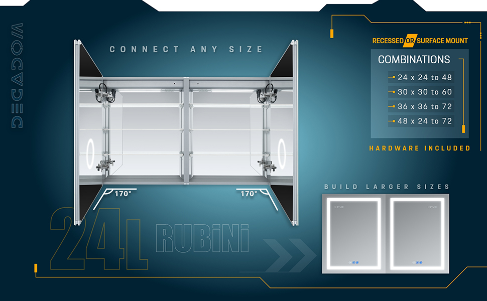 Rubini 2432/L- BX 5
