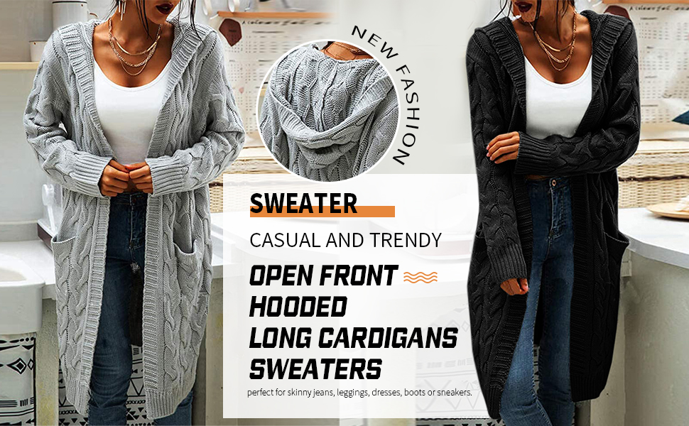 sweater cardigans for women