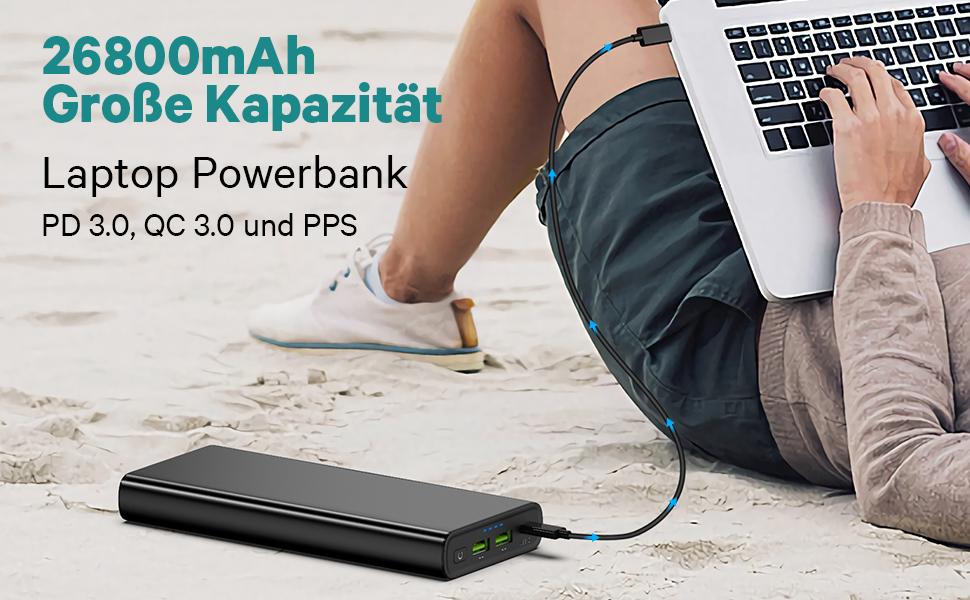 USB C 100W Powerbank