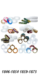 Rings Assortment Molds 24-Count
