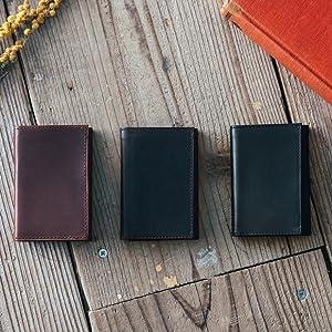 PRESSo 小さい財布 ミニマリスト財布 コンパクト財布 薄い財布