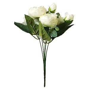 silk peonies flower