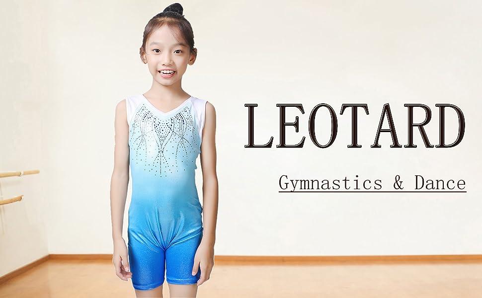 shiny leotards for girls gymnastics