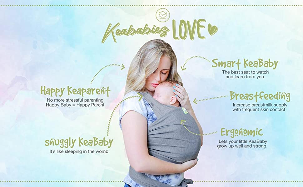 baby wrap wraps carrier carriers sling slings ring infant newborn holder strap straps stretchy ergo