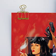 Hanging methods funny prints pulp fiction movie posters mia wallace
