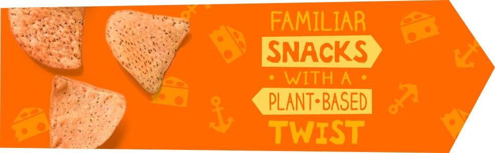 Familiar Snacks with a Plant-Based Twist