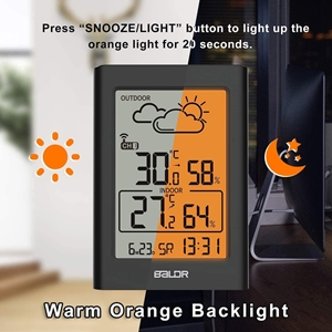 Warm Backlight, Easy to Read