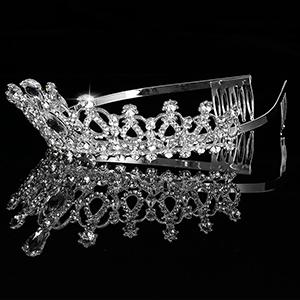 Bridal Tiara Crystal Rhinestones5