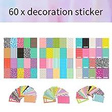 60 x decoration sticker
