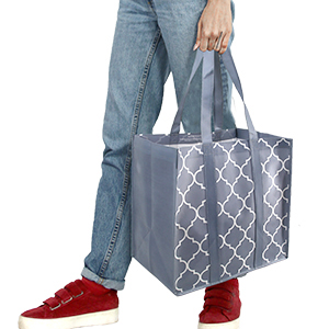 You Can Hold the Heavy-Duty Grocery Bag on Your Hands.