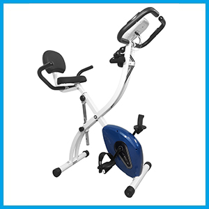 Dolphy Folding standing Exercise X desk Bike fitness Spinning Indoor Cycling ,Smooth & Quiet