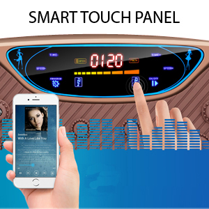 Vibration Plate Touch Panel