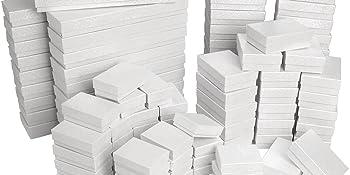 Mix white boxes,mix white cotton filled boxes, 5 size cotton filled box