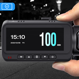 dash cam with gps and speed