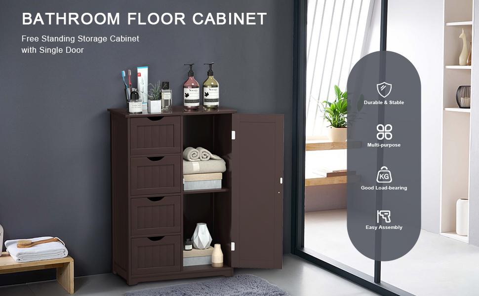 Bathroom Floor Cabinet